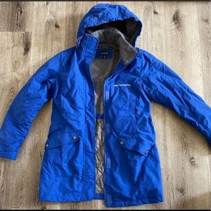 Lands End Insulated Squall Parka Blue Winter Coat